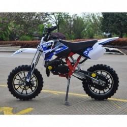 """minicross 49 cc automática con chsis reforzado y llantas de 10"""""""