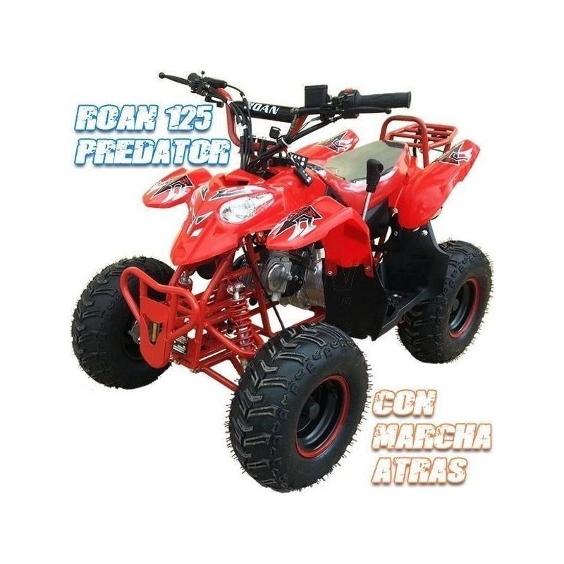 Mini quad predator 110 cc, sin marcha atrás, limitador de velocidad, imr, malcor, roan, nitro