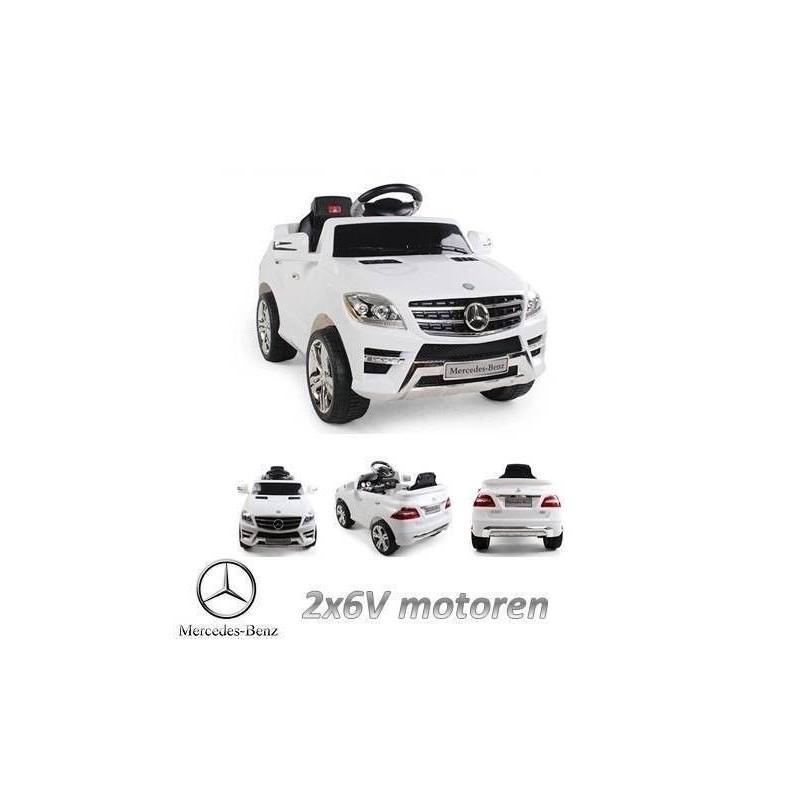 Coche eléctrico Mercedes ML 350, 6 voltios, 2 motores, mando a distancia