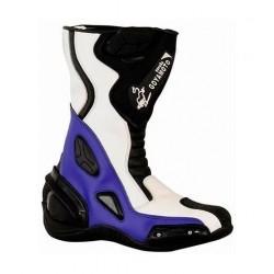 Botas de piloto fabricadas en piel de alta calidad