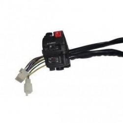 Llave multifuncion de mando de luces y arranque electrico para miniquads