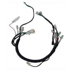 Cables para instalación eléctrica para miniquads con arranque a batería.