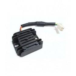 Regulador de corriente para cargar la bateria