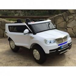 Coche eléctrico BMW X5 4x4, mando 2.4G, dos plazas y ruedas neumáticas
