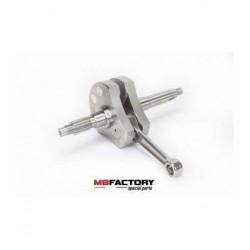 Cigüeñal racing para motores daytona anima  150cc 4v. , 49,5 mm. Peso 2010gr.