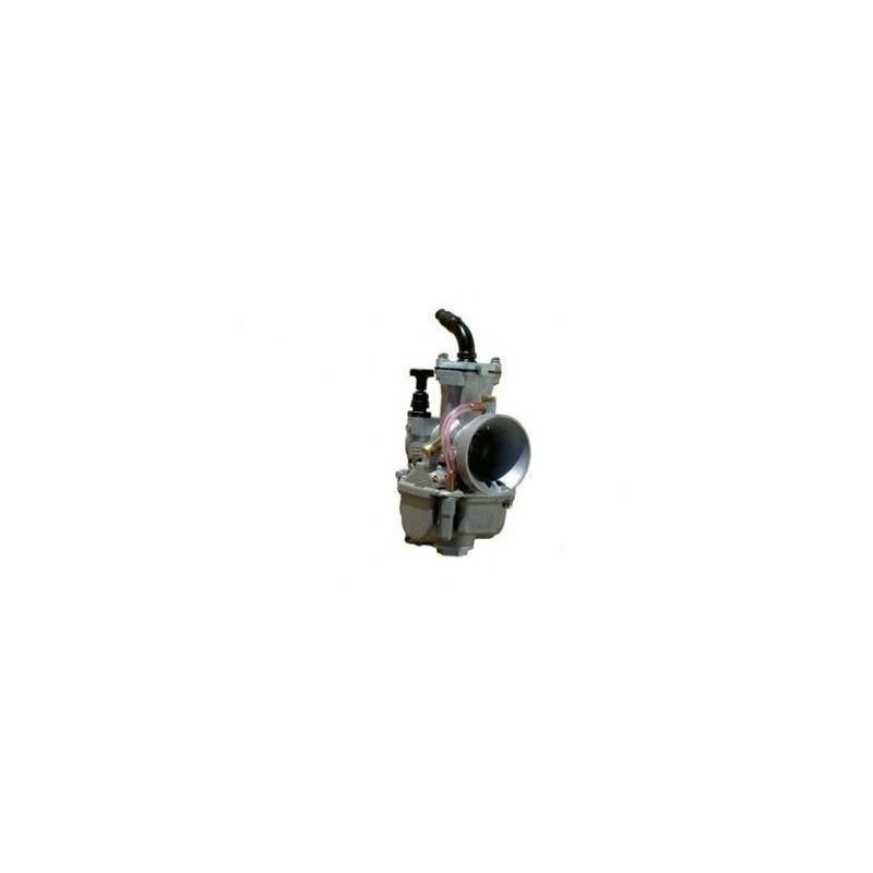 Carburador OKO original de 28mm campana plana, ideal para pit bike o scooter.