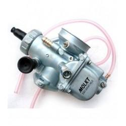 Carburador MOLKT 26mm con doble flotador e inyección mas directa