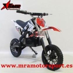 """NUEVA Mini moto de cross eléctrica 350w, llantas de 8"""", 3 velocidades, frenos de disco, horquilla invertida"""