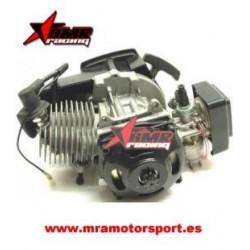 Motor de minimoto 2 tiempos completo. Con carburador y tirador