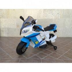Moto eléctrica estilo BMW 12v, ruedas de Foam