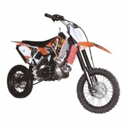 Dirt bike Pitbike cross 65 c.c. 2 Tiempos, 16 caballos, pit bike de competición