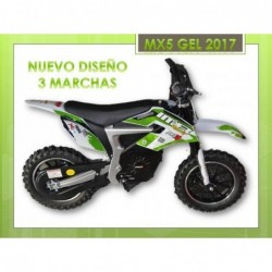 minimoto cross eléctrica MX5 500 w