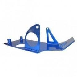Cubrecarter de aluminio para pitbike, motor YX 150-160 o ZS 155 -160. En color azul o rojo