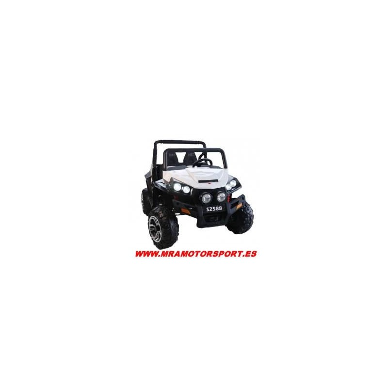 Coche eléctrico Jeep 4x4, 2 plazas, 4 motores, mando 2.4g