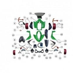 Asiento quad Jinling 300 cc