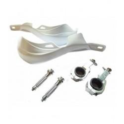 Cubremanos de aluminio en color blanco