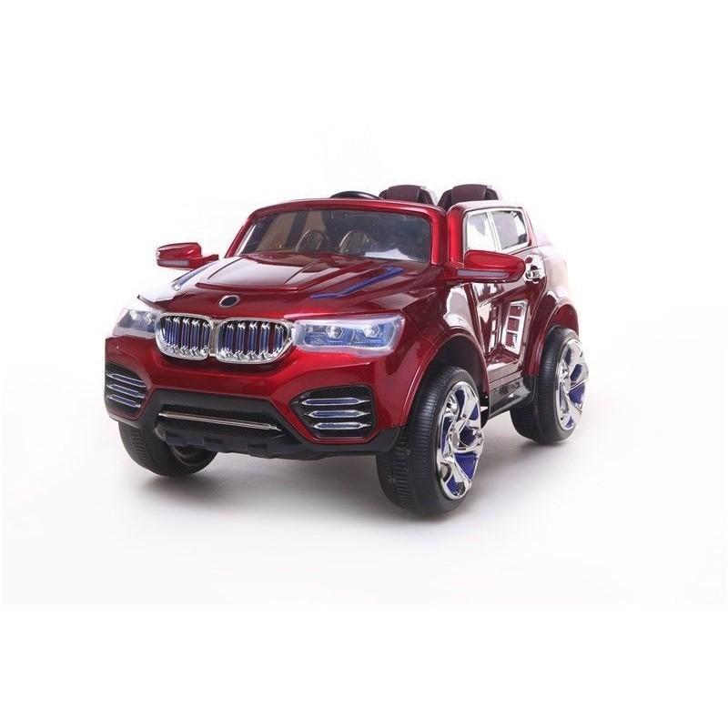 OCHE ELÉCTRICO MRA MOTORSPORT BMW X3 SYTLE 12V  RUEDAS NEUMÁTICAS Y ASIENTO DE PIEL
