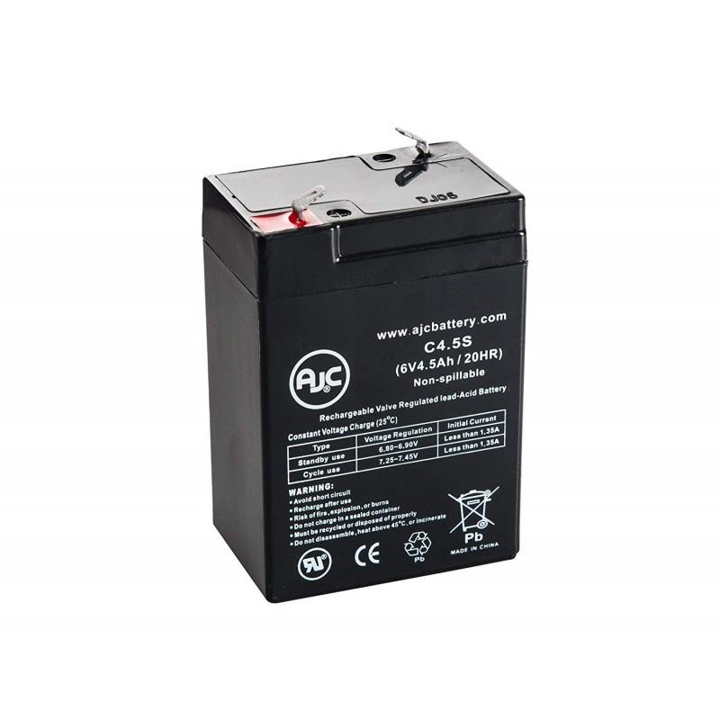 Batería de Ácido-plomo sellado de 6V 4.5Ah