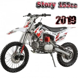 Nueva Pit bike cross 155 c.c.  Story. 2019