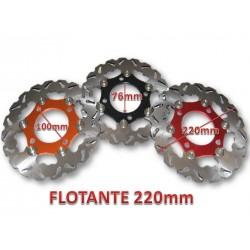 DISCO FRENO 220 MM FLOTANTE