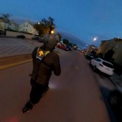 CHALECO REFLECTANTE DE SEGURIDAD LED, PARA PATINETES ELÉCTRICOS, BICICLETAS O PARA ANDAR CON SEGURIDAD POR LA CARRETERA