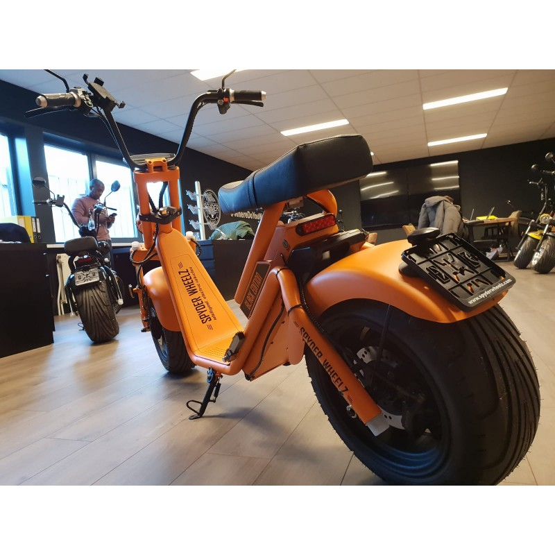 Scooter Eléctrico, Patinete Eléctrico Spyder Wheelz Caigiees 2.3