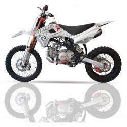 Pitbike Cross IMR KRZ 170RR – TT170R, horquilla Fast ace