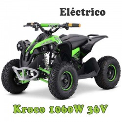 Nuevo MINI QUAD ELÉCTRICO  KROCO 1060W Brushless 36V 12AH PLOMO