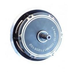 Motor trasero brushless para patinetes electricos de litio 1000w y 48v. Motor de campo magnetico con llanta incluida.