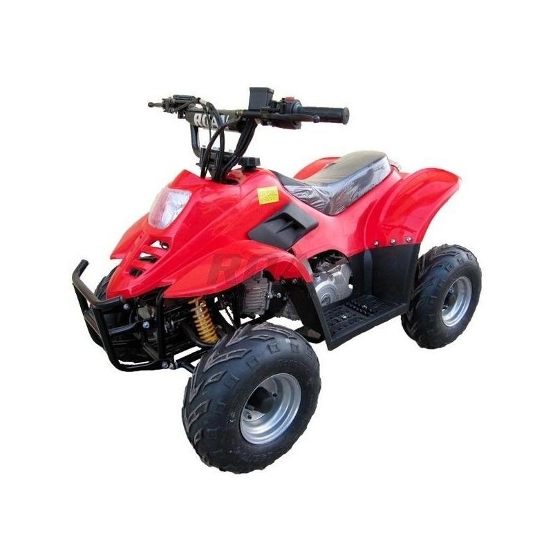 Mini Quad Raptor 110 c.c, arranque eléctrico y mando a distancia, sin marcha atrás