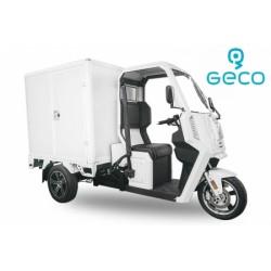 Coche eléctrico Geco Truck XC 3kW con baterías, para reparto de la última milla