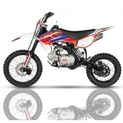 Pitbike IMR KRZ 125 XL Versión Kayo, llantas 17-14